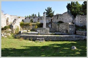Stari Grad Vidoški na brdu Križevcu u Stocu